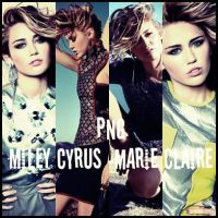 Miley Cyrus-Png Marie Claire by tkmmi