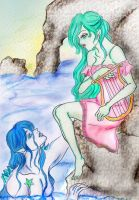 Your melody fromThe sea shores by keep-breathing