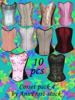Corset pack IV by AnnFrost-stock
