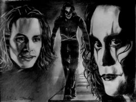 A Tribute to Brandon Lee by Tiorra
