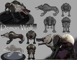 Demon Wolf by Panzer82