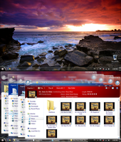 Windows 7 Longhorn M7 R2 Screenshot - May,15,2012 by Draco23hack