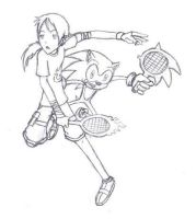 Strapping game of Tennis by PhoenixG2