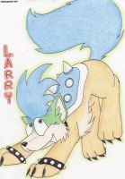 Larry Koopa Wolf by Boltonartist