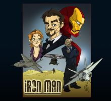 Iron Man by woev