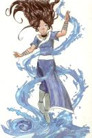 Sifu Katara by greeenDudE