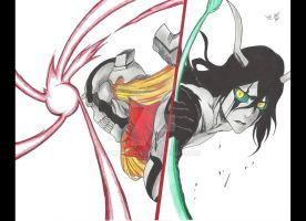 Ichigo Vs Ulquiorra by MTEvans