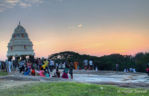 Kempegowda Tower on top of Lal Bagh by harishrvt