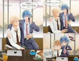 NOIZ and AOBA in Office (English) by chienu