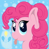 Silly Pinkie by PhoenixSwift
