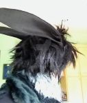 Black Rabbit wig test 2 by Bwabbit
