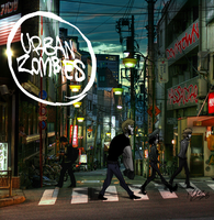 "Urban Zombies ""Zombey road"" by MikeLuckas"