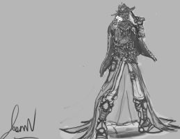 GunSlinger Sketch by nosaj7541