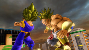 Son Taven Vs. Broly by TavenPrower