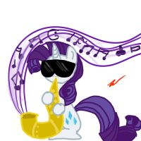 Saxophone Rarity by ZoruaAWESOME