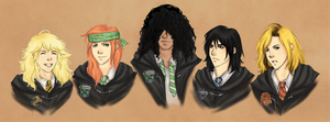 Hogwarts Gunners by rivertem