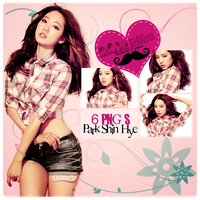 Pack PNG Park Shin Hye by GAJMEditions