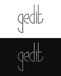 gedit Logo Proposal by Islingt0ner