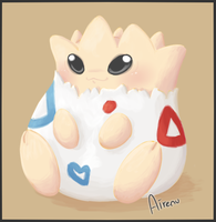 Togepi by Airenu-ish