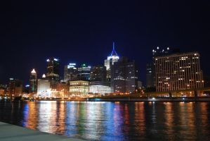 Steel City Skyline by JShafer