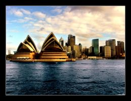 Sydney Harbour by ya3