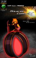 Antares Complex Issue 04 cover by Gx3RComics