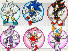 Sonic Couples by FutureSilverTrunks