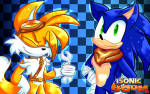 .:Sonic BOOM:. Wallpaper by CrazyCakesune