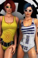 The Droids You're Looking For by SydneyKaraAndrews