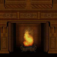 Fireplace BG by markopolio-stock