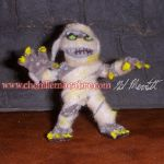 Mummy Pipe Cleaner Miniature by the-gil-monster