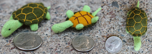 Tiny Turtle Plush by SewnRiver