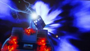 drwho bttf Outatime by rocketman28