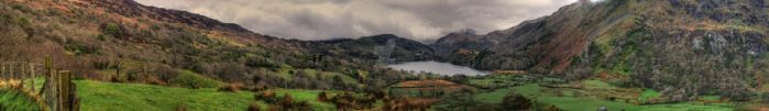 Snowdonia Panorama by purplepolarbear