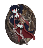 Marceline- Steampunk by MelciAdR