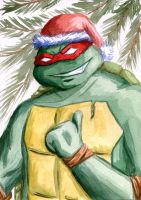 Merry Christmas! Raphael by Daniela-Chris