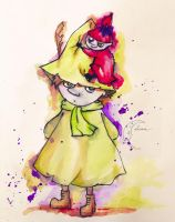 Snufkin and Little My by LunaDiCarlo