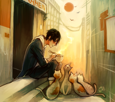 Back Alley Ramen by forgottenpantaloons
