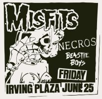 Pushead Flyer Misfits Necros by pauloxtr3m