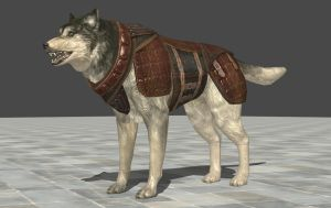 Armored Dog by zeushk