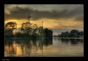 Sunset At The River by Tanja0869