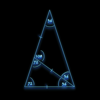 Fractal Triangle and Phi by Bazelkeyz