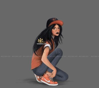 fashionista girl by wassimo