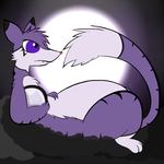 Relaxing in the Moonlight by Hikara-the-Mienshao