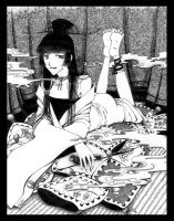 Yuko, xxxHOLiC by Shinanai