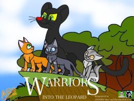 WARRIOR CATS: INTO THE LEOPARD - COVER ART by AhO4464