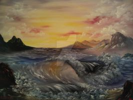 Sunset Seas by Redford-1Scapeartist