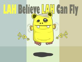 Lah can Fly by mobber