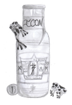 Toxic Frog Vodka by TRM16
