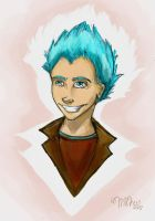 Teddy Lupin -sketchie- SPOILER by freckledmystery